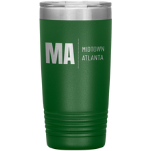 Load image into Gallery viewer, Midtown Atlanta Tumbler Green