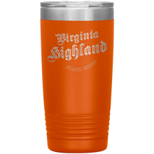 Load image into Gallery viewer, Virginia Highland Tumbler Orange
