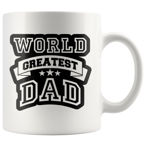 Dad Coffee Cup World's Greatest Front