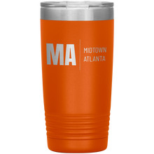 Load image into Gallery viewer, Midtown Atlanta Tumbler Orange