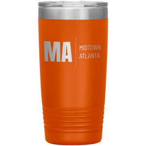 Midtown Atlanta Tumbler Orange