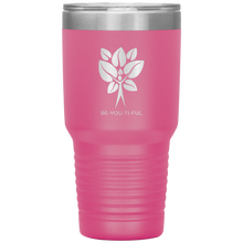 Load image into Gallery viewer, Be-You-Ti-Ful Tree Stainless Steel Tumbler Pink
