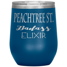 Load image into Gallery viewer, Peachtree Street Badass Elixir Wine Tumbler Blue