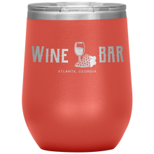 Load image into Gallery viewer, Wine Bar Atlanta Tumbler Coral