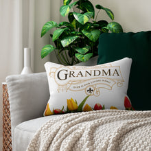 Load image into Gallery viewer, The Very Best Grandma Decorative Accent Lumbar Pillow Display