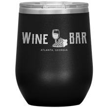 Load image into Gallery viewer, Wine Bar Atlanta Tumbler Black