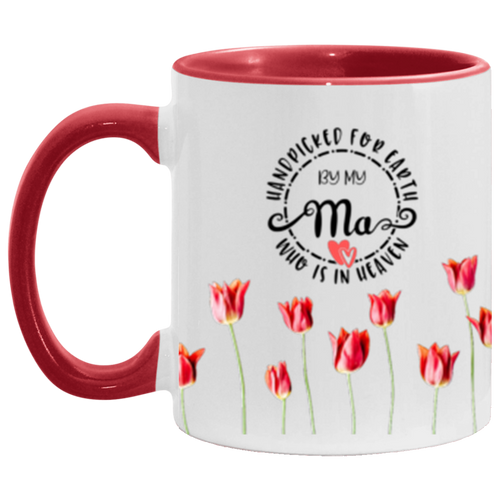 Handpicked Roses Accent Coffee Cup