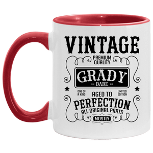 Grady Babe Accent Coffee Cup Red