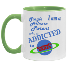 Load image into Gallery viewer, Cool Math Games Atlanta Coffee Cup Green