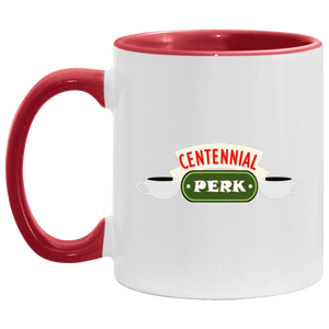 Centennial Perk Accent Coffee Cup Red