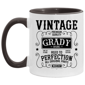 Grady Babe Accent Coffee Cup Black