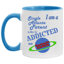 Load image into Gallery viewer, Cool Math Games Atlanta Coffee Cup Blue