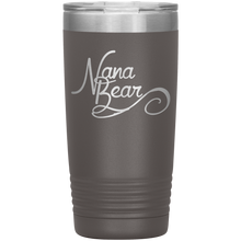 Load image into Gallery viewer, Nana Bear Stainless-Steel Tumbler Pewter