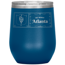 Load image into Gallery viewer, The Winery Atlanta Wine Tumbler Blue