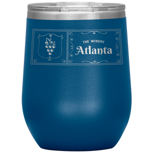 The Winery Atlanta Wine Tumbler Blue