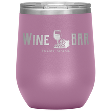 Load image into Gallery viewer, Wine Bar Atlanta Tumbler Light Purple