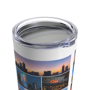 Atlanta Montage Tumbler Lid On