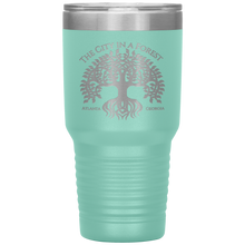 Load image into Gallery viewer, Atlanta City in a Forest Tumbler Teal