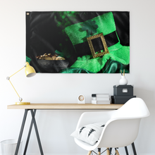 Load image into Gallery viewer, Saint Patrick's Day Wall Flag
