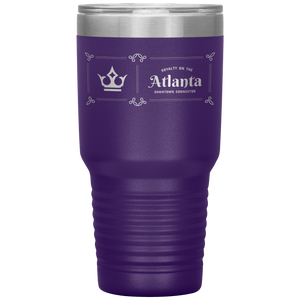 Atlanta Downtown Connector Tumbler Purple