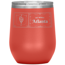 Load image into Gallery viewer, The Winery Atlanta Wine Tumbler Coral