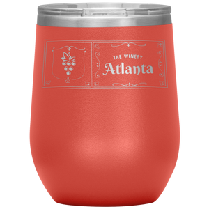 The Winery Atlanta Wine Tumbler Coral