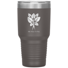 Load image into Gallery viewer, Be-You-Ti-Ful Tree Stainless Steel Tumbler Pewter