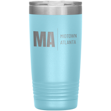 Load image into Gallery viewer, Midtown Atlanta Tumbler Light Blue