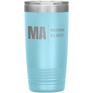 Midtown Atlanta Tumbler Light Blue