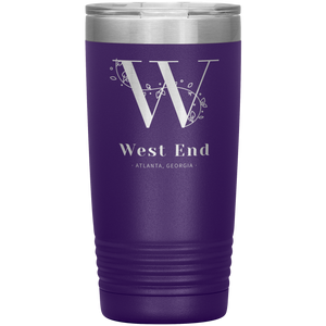 West End Atlanta Tumbler Purple