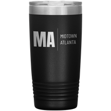 Load image into Gallery viewer, Midtown Atlanta Tumbler Black