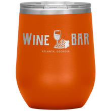 Load image into Gallery viewer, Wine Bar Atlanta Tumbler Orange