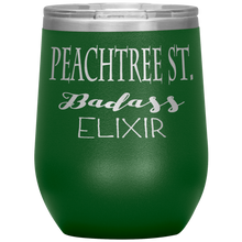 Load image into Gallery viewer, Peachtree Street Badass Elixir Wine Tumbler Green