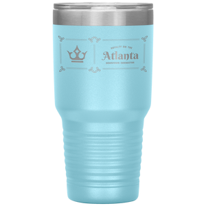 Atlanta Downtown Connector Tumbler Light Blue