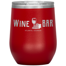Load image into Gallery viewer, Wine Bar Atlanta Tumbler Red