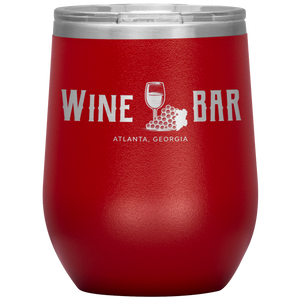 Wine Bar Atlanta Tumbler Red