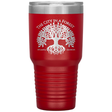 Load image into Gallery viewer, Atlanta City in a Forest Tumbler Red
