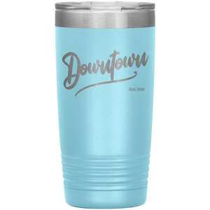 Downtown Atlanta Georgia Tumbler Light Blue