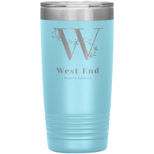 West End Atlanta Tumbler Light Blue
