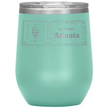 Load image into Gallery viewer, The Winery Atlanta Wine Tumbler Teel