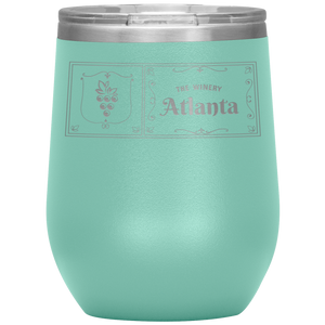 The Winery Atlanta Wine Tumbler Teel