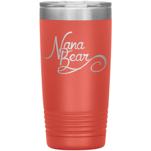 Load image into Gallery viewer, Nana Bear Stainless-Steel Tumbler Coral