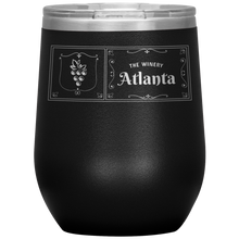 Load image into Gallery viewer, The Winery Atlanta Wine Tumbler Black