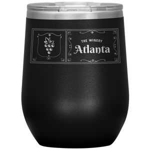 The Winery Atlanta Wine Tumbler Black