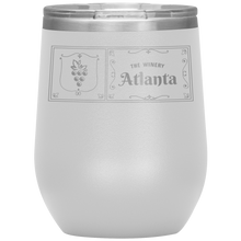 Load image into Gallery viewer, The Winery Atlanta Wine Tumbler White