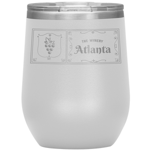 The Winery Atlanta Wine Tumbler White