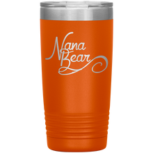 Load image into Gallery viewer, Nana Bear Stainless-Steel Tumbler Orange