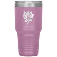 Load image into Gallery viewer, Be-You-Ti-Ful Tree Stainless Steel Tumbler Light Pink