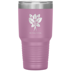 Be-You-Ti-Ful Tree Stainless Steel Tumbler Light Pink