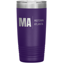 Load image into Gallery viewer, Midtown Atlanta Tumbler Purple